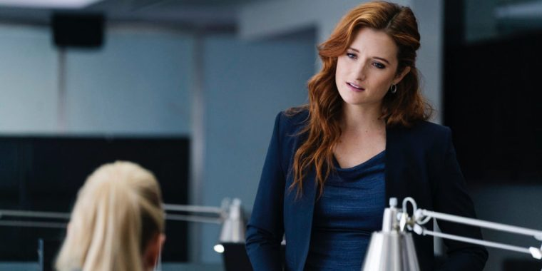 Grace Gummer as Agent DiPierro in Mr Robot (Mr Robot, USA Network)
