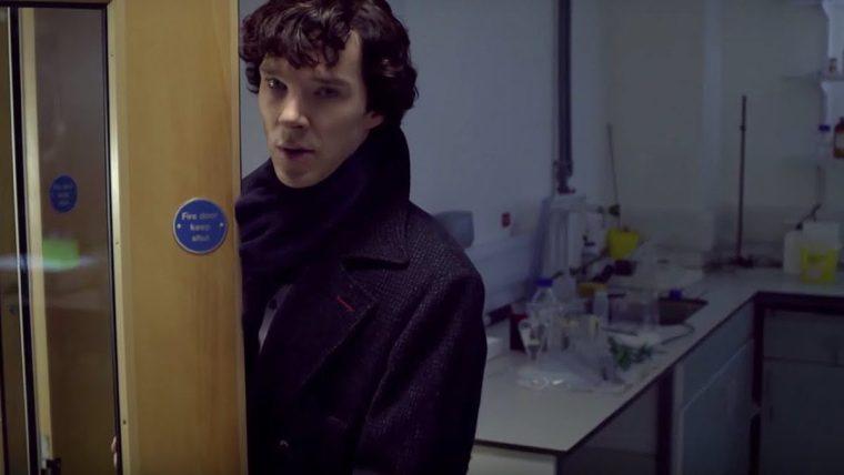 Consulting detective Sherlock Holmes (Benedict Cumberbatch) (Sherlock, BBC One)
