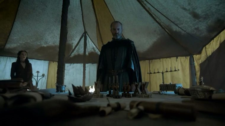 Stannis Baratheon (Stephen Dillane) will be forever in our hearts; his fire burns in our memories (Game Of Thrones, HBO)