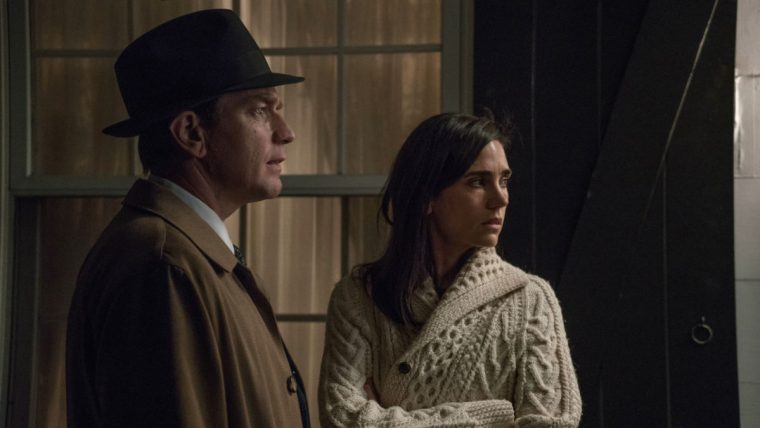Swede Levov (Ewan McGregor) and Dawn Levov (Jennifer Connelly) in American Pastoral (American Pastoral, Lionsgate)