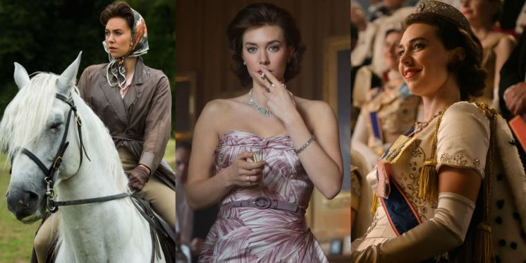 It has to be said, Princess Margaret (Vanessa Kirby) fast became my favourite character (The Crown, Netflix)