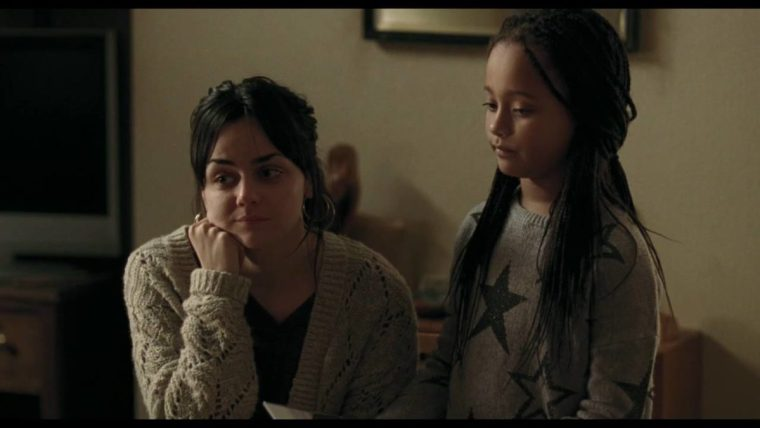 Katie (Hayley Squires) and her daughter Daisy, played by the talented and young Brianna Shann (I, Daniel Blake, British Film Institute)