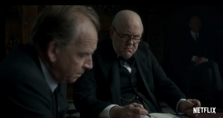 "John Lithgow gives an Emmy-worthy performance as ""The Father Of The Nation (The Crown, Netflix)"