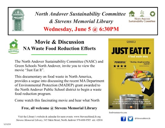StevensMemLib Just Eat It Flyer with NA waste reduction 2019-06-05.jpg