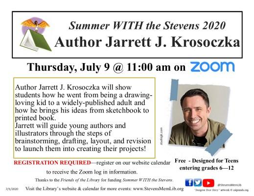 StevensMemLib Jarrett Krosockza Flyer.jpg