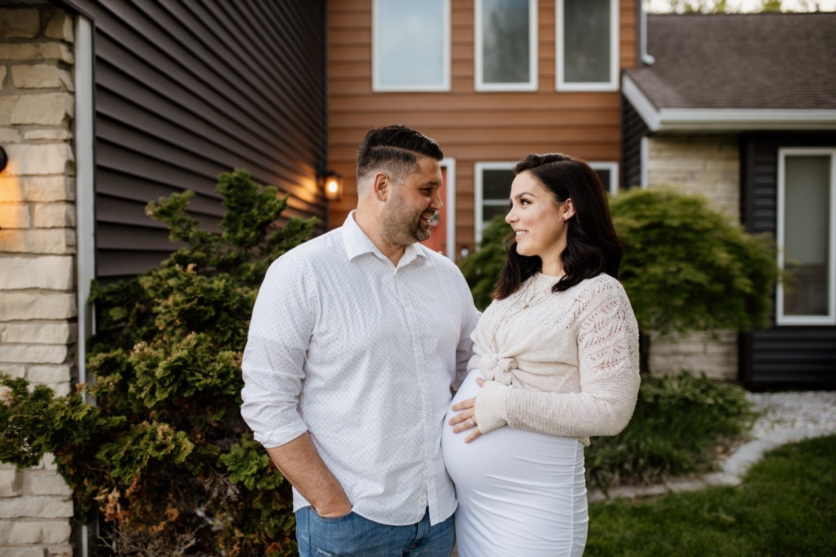 St. Louis Porch Maternity Session Photography