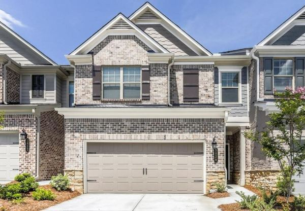 Johns Creek Townhome Abbotts Square Taylor Morrison Built