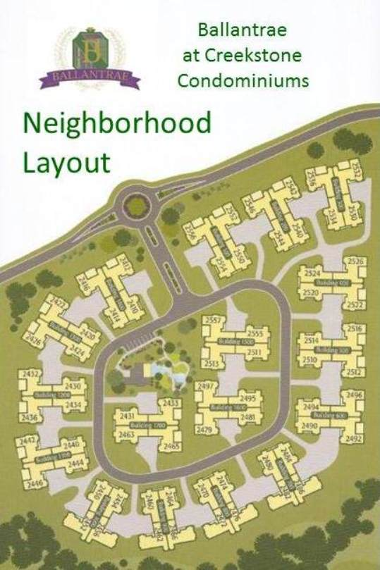 Ballantrae At Creekstone Cumming GA Site Plan
