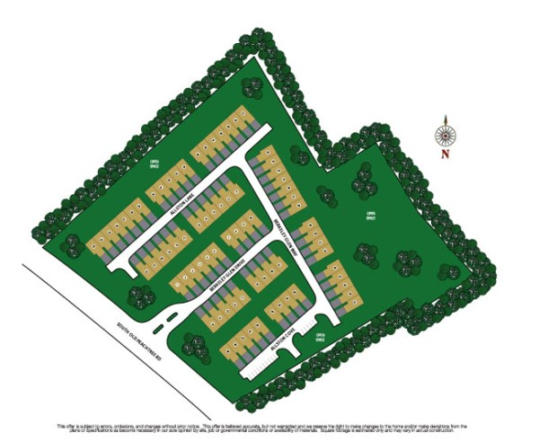 Berkeley Chase Norcross Georgia Community Site Plan