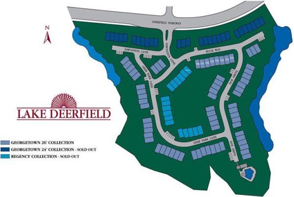 Lake Deerfield Alpharetta GA Townhomes