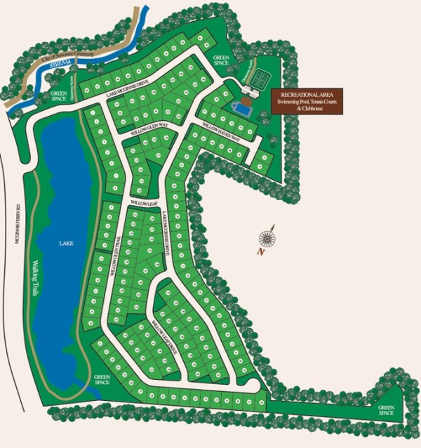 McGinnis Reserve Community Site Plan Suwanee Georgia