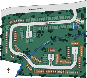 Pinnacle Glen Community Site Plan