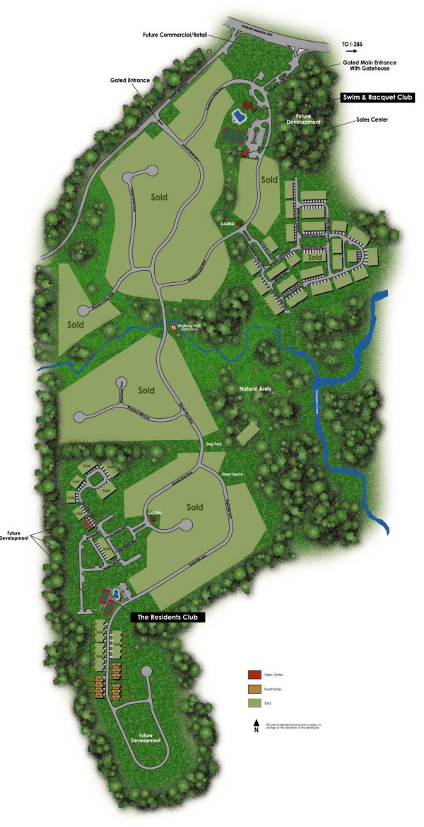 Providence Community Site Plan City Of Mableton