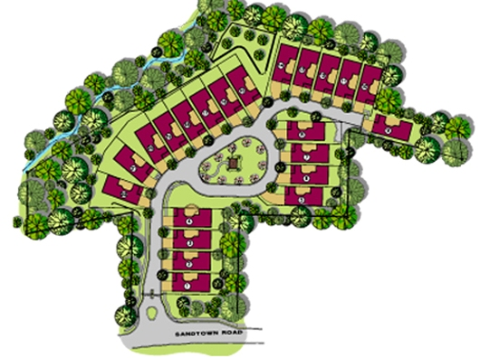 Sandtown Village Leland Homes Community