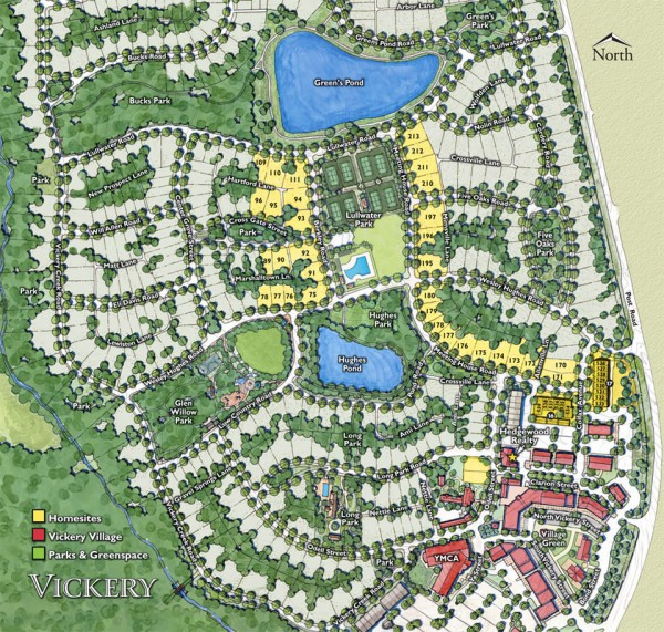 Vickery Cumming Georgia Site Plan