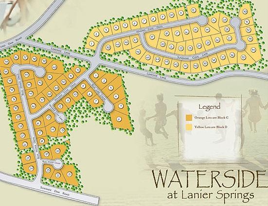 Waterside At Lanier Springs Vintage Communities
