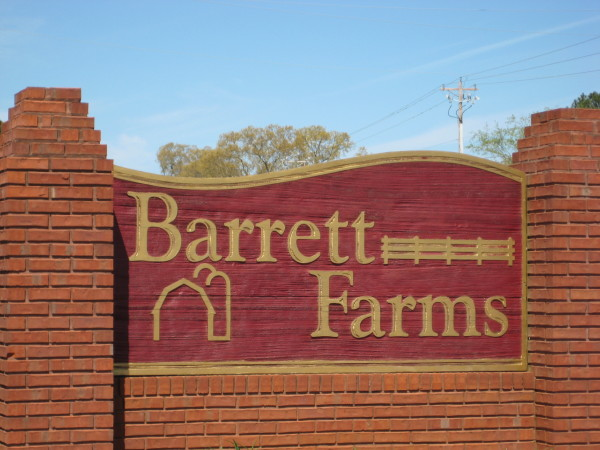 Barrett Farms Neighborhood Canton GA