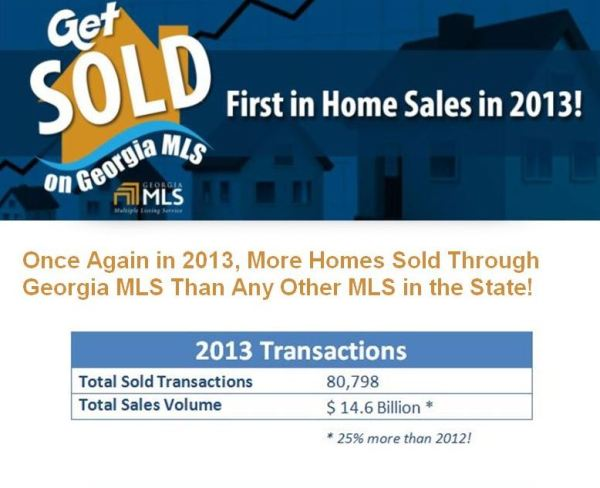 Georgia Real Estate Market report by GAMLS