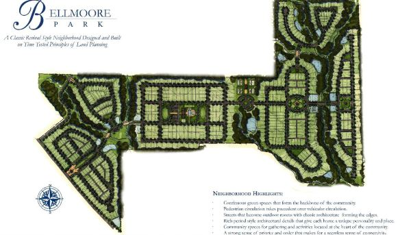 Providence Group Bellmoore Park Site Plan