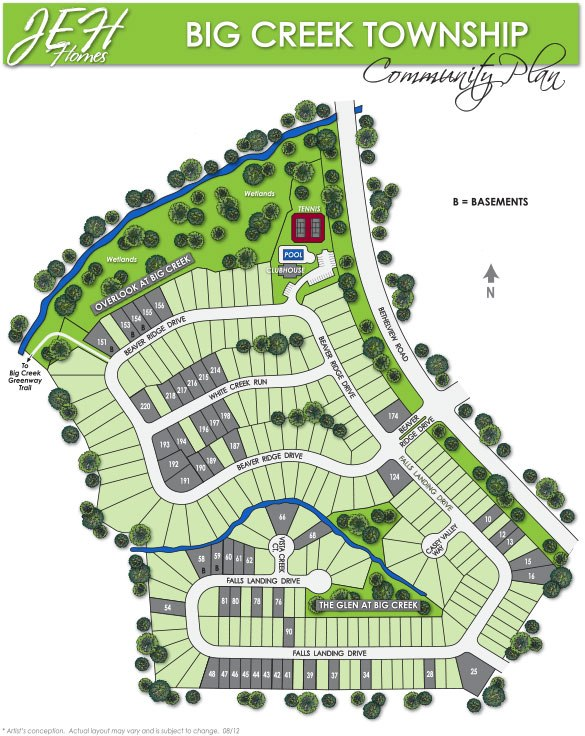 JEH Big Creek Township Neighborhood Site Plan