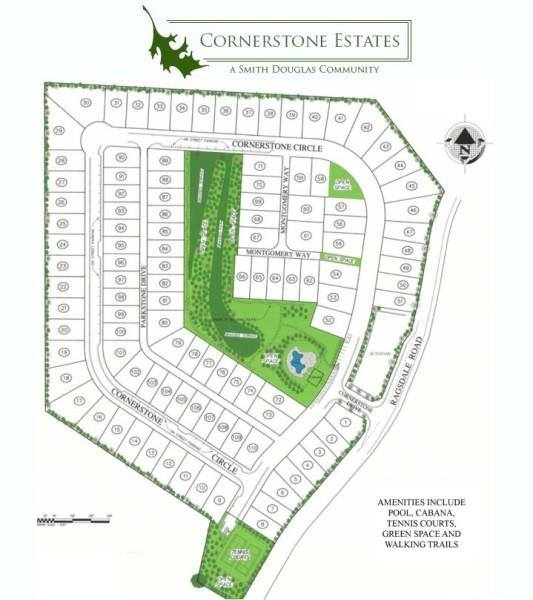 Woodstock GA Cornerstone Estates