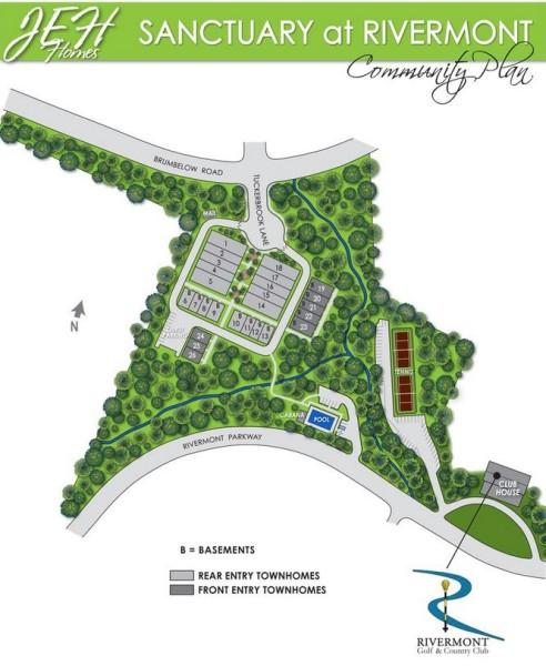 Johns Creek Sanctuary At Rivermont Subdivision
