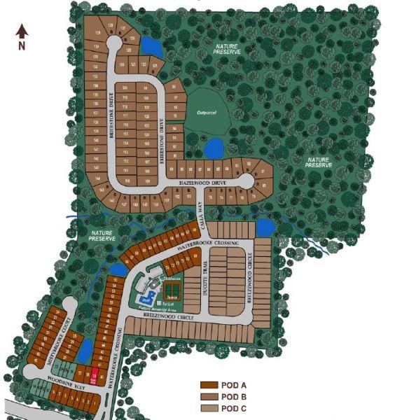 Alpharetta Subdivision Waterbrooke