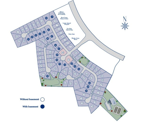 Sugar Hill Ashford Crossing Site Plan