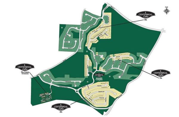 Acworth GA Community Centennial Lakes