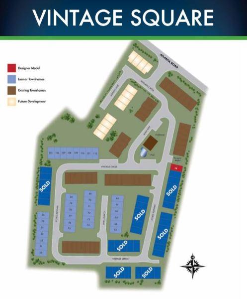 Smyrna GA Community Site Plan Vintage Square