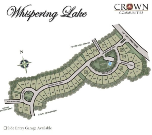 Cumming GA Whispering Lake Neighborhood