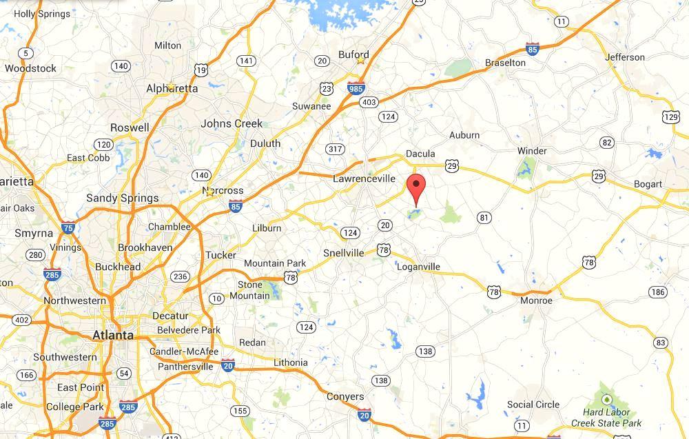 Atlanta Real Estate I Remax GA I Forsyth County HomesLawrenceville - Georgia map lawrenceville