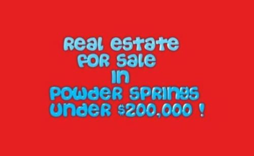 Powder Springs Real Estate For Sale