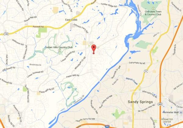 Marietta Map Location Of Cobblestone Manor