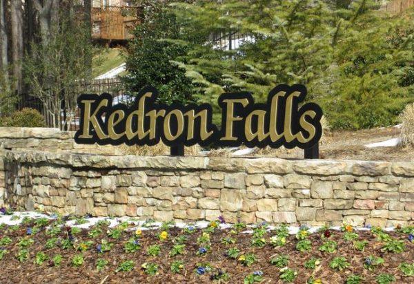 Kedron Falls Norcross Townhome Community