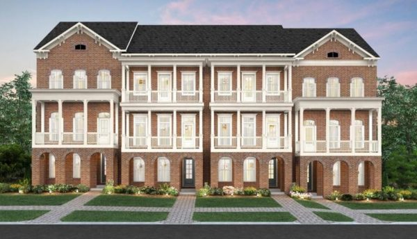 Luxury North Decatur GA Townhomes The Mews