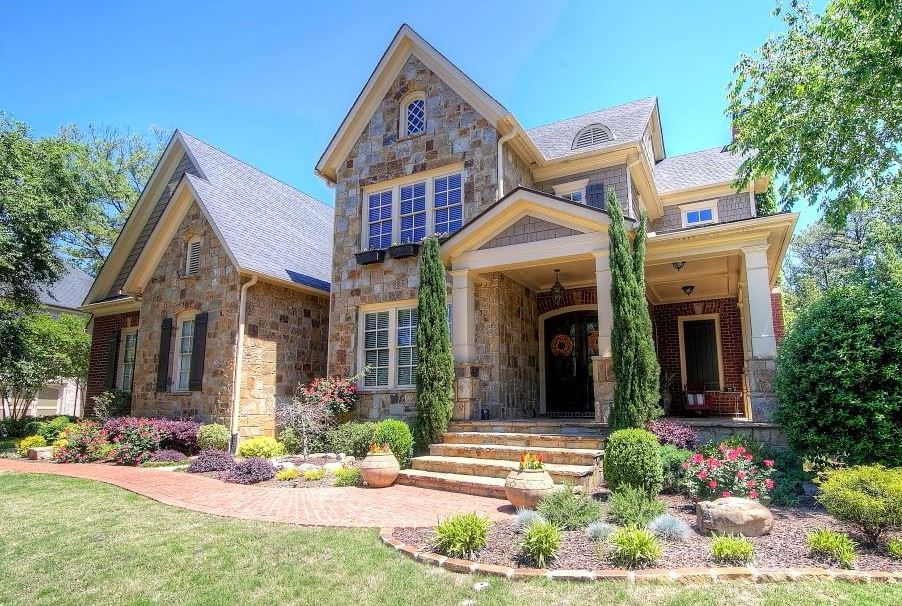 reserve at east jones bridge gated estate homes in gwinnett north