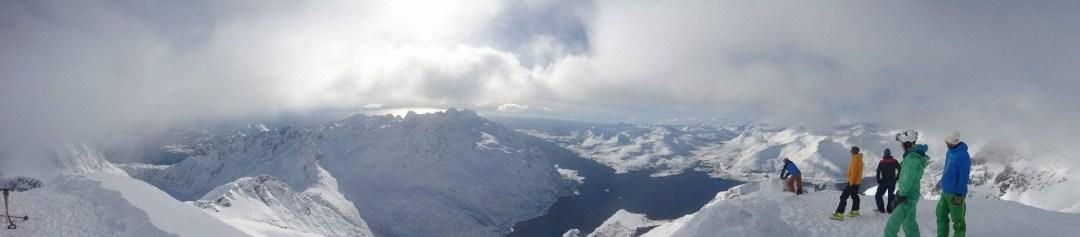 Topptur på Geitgaljartind i Lofoten
