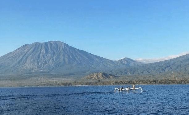 north bali reef conservation - bali volunteering program - mount agung status