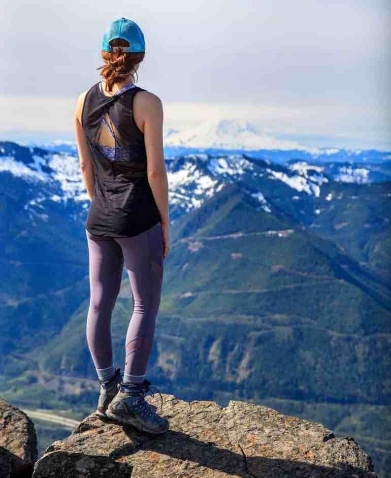 Incredible View of Mt Rainier from Mailbox Peak