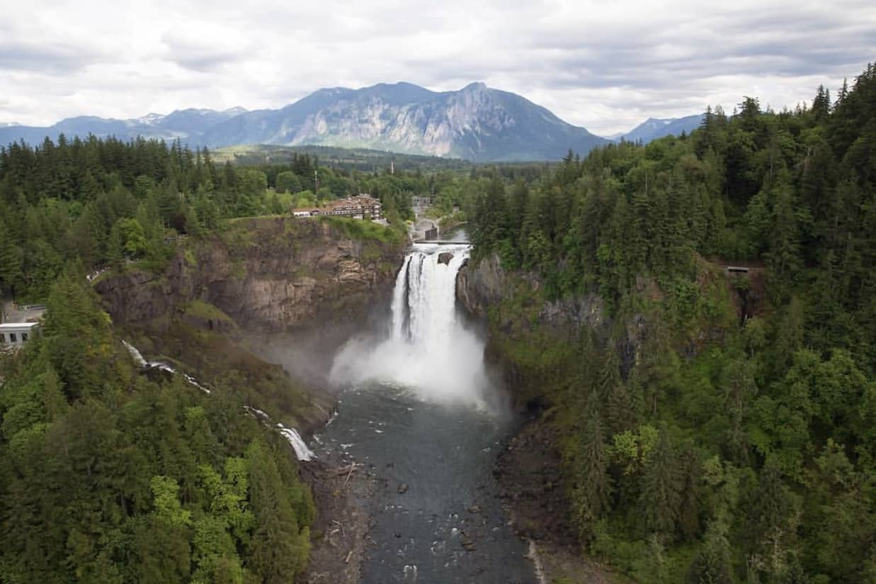 Mount Si and Snoqualmie Falls