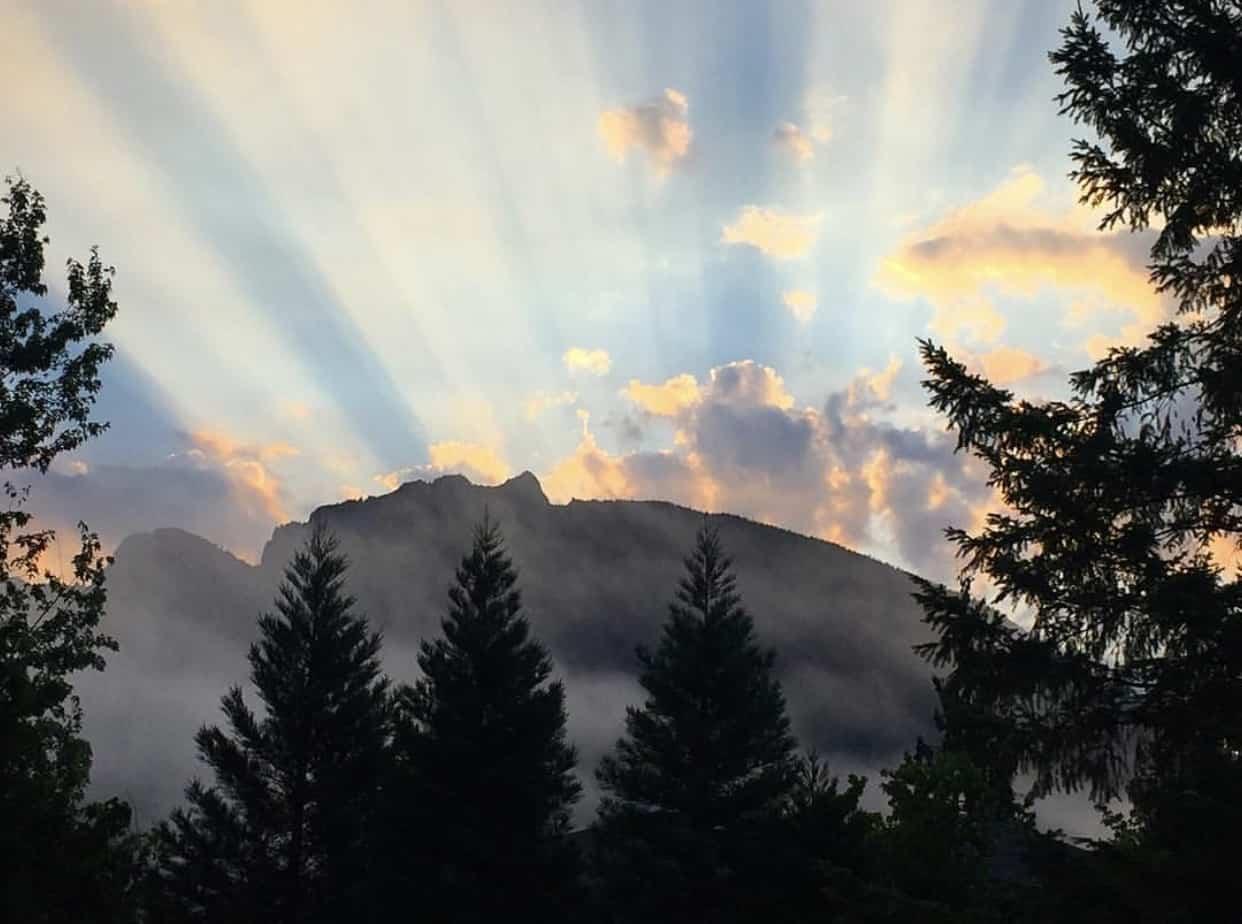Sunrise over Mt Si