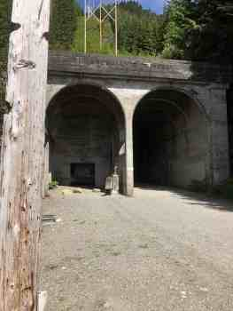 Closeup - West Entrance to Snoqualmie Tunnel