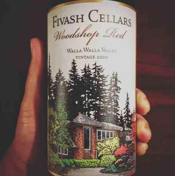 Fivash Cellars Woodshop Red