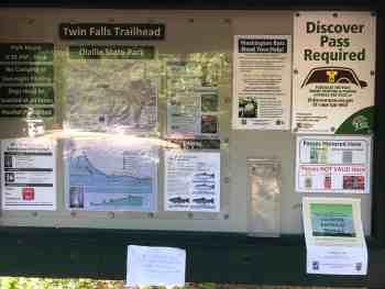 Twin Falls Trailhead