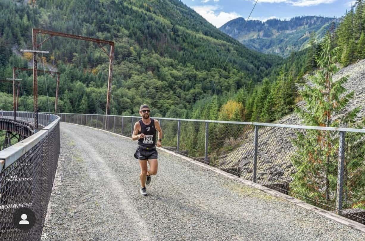 Cascade Express Marathon Runner