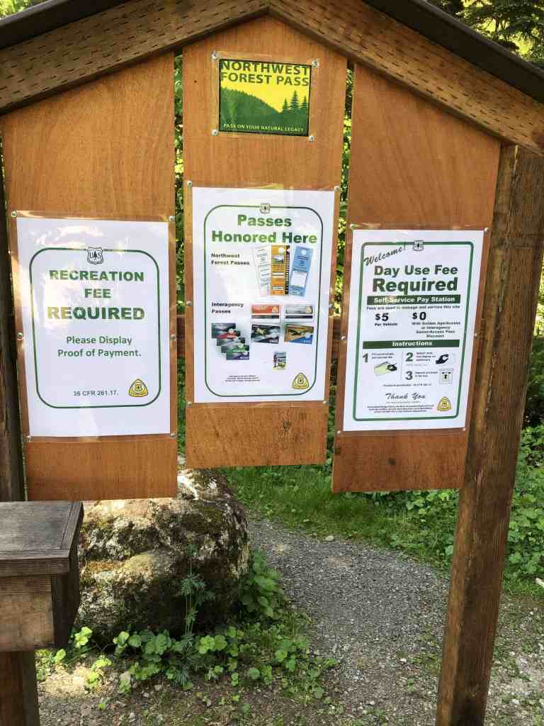 Middle Fork Snoqualmie Parking Lot Fee Information