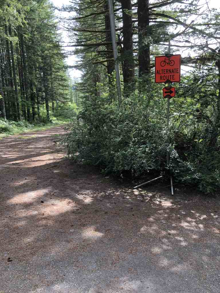 This Cross Trail is NOT the Palouse to Cascades Trail