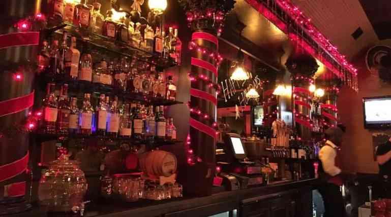 Old Fashioned Bar at Woodman