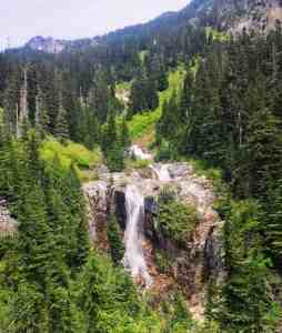 Snowshoe Falls from the Denny Creek Trail